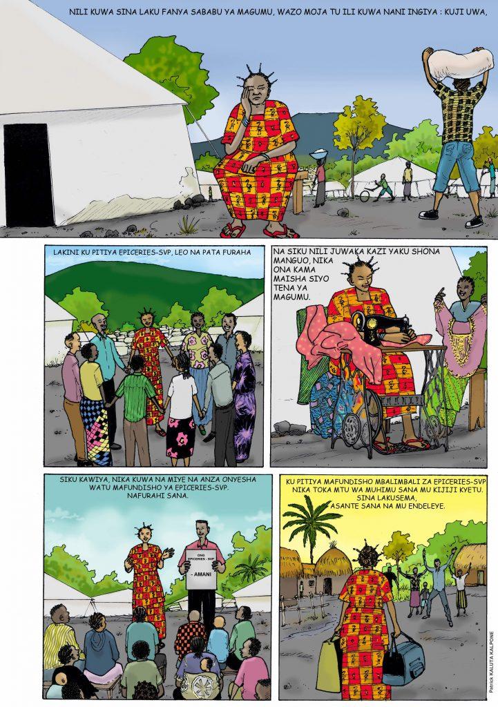 L'histoire de cette femme qui rentre au village après des années dans un camp